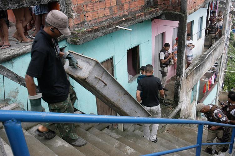 Mortes nesta quinta-feira, 23, teriam relação com um homicídio cometido na véspera - Foto: Mila Cordeiro l Ag. A TARDE