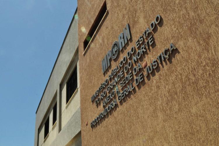 A ação criminosa aconteceu dentro da sede do MPRN - Foto: Divulgação | MPRN