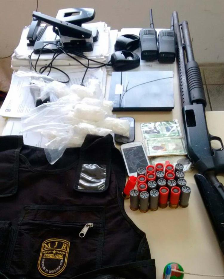 Material apreendido pela polícia durante a operação - Foto: Divulgação | Polícia Civil