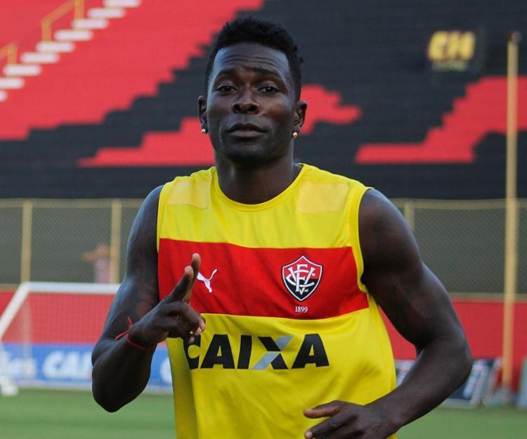 Kanu é um dos poucos titulares que deverão jogor pelo Leão - Foto: Maurícia da Matta l EC Vitória l Divulgação