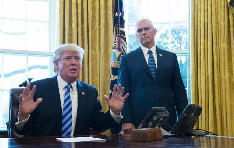 Donald Trump sofreu uma derrota política significativa ao não conseguir os votos - Foto: Mandel Ngan l AFP Photo