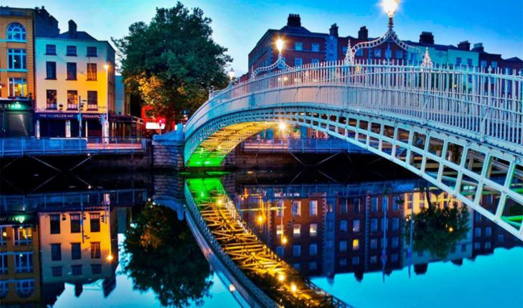 Alunos podem ficar de um a seis meses em Dublin - Foto: Reprodução