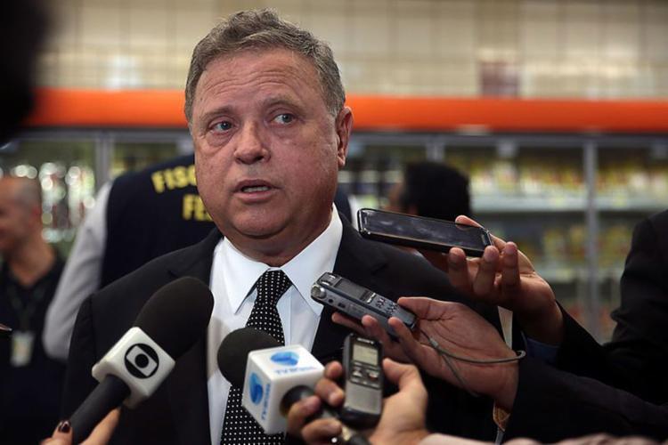 Ministro Blairo Maggi acredita que Hong Kong também deve liberar a entrada da carga brasileira - Foto: José Cruz l Agência Brasil