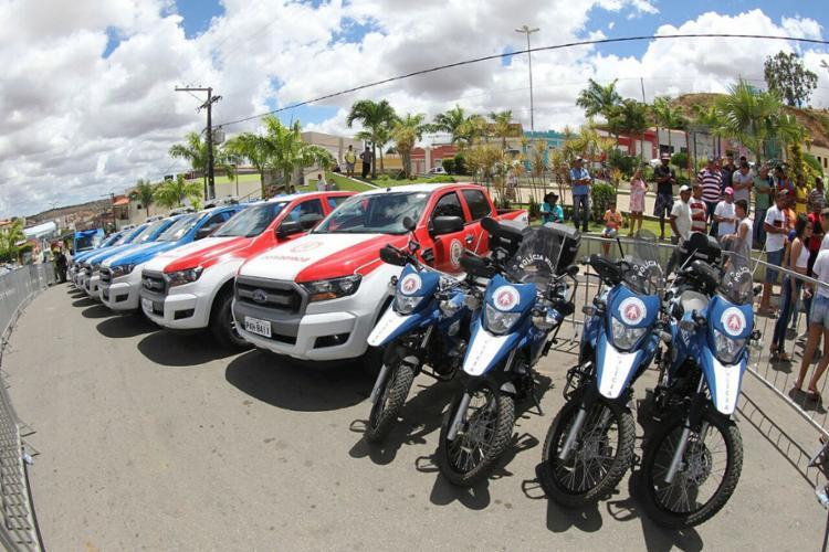 Foram mais de R$ 3,5 milhões investidos em veículos novos e mais modernos - Foto: Manu Dias l Gov-BA