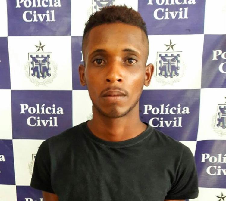 Walmir foi detido em uma feira livre no centro da cidade - Foto: Divulgação | Polícia Civil