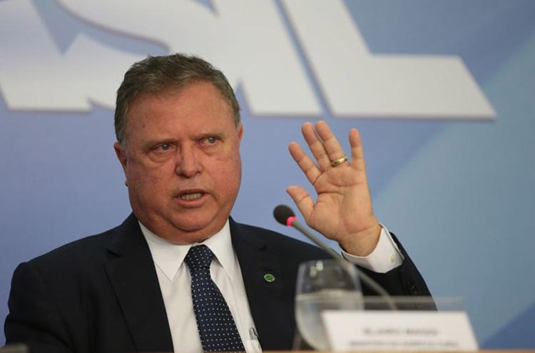 Ministro informou à CNI que o objetivo era elevar a fatia brasileira no mercado de alimentos de 7% para 10% - Foto: José Cruz l Agência Brasil