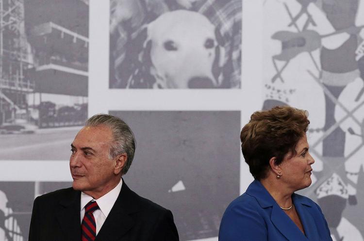 Partido, hoje da base governista, apresentou ação para investigar chapa Dilma-Temer após eleições de 2014 - Foto: Ueslei Marcelino l Reuters