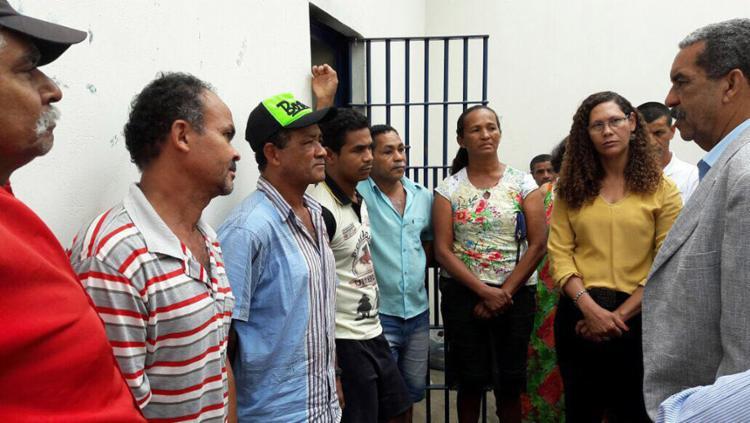Trabalhadores estavam presos desde o início do mês - Foto: Ascom Secretaria da Justiça l Divulgação