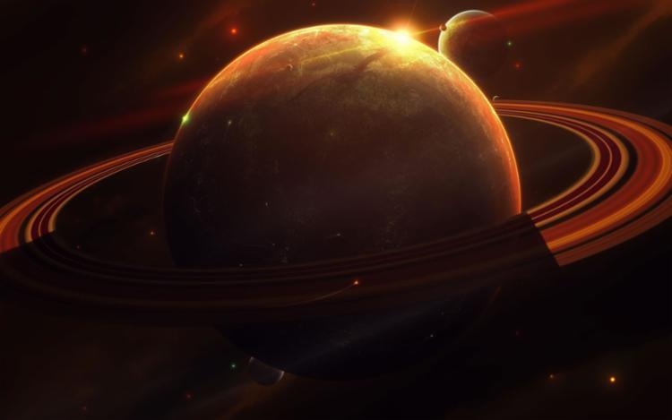 Saturno e seus anéis - Foto: Reprodução | Hotel-R