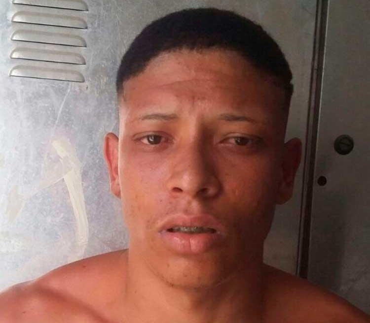 Bruno também é suspeito de outros roubos na região - Foto: Divulgação l Polícia Civil