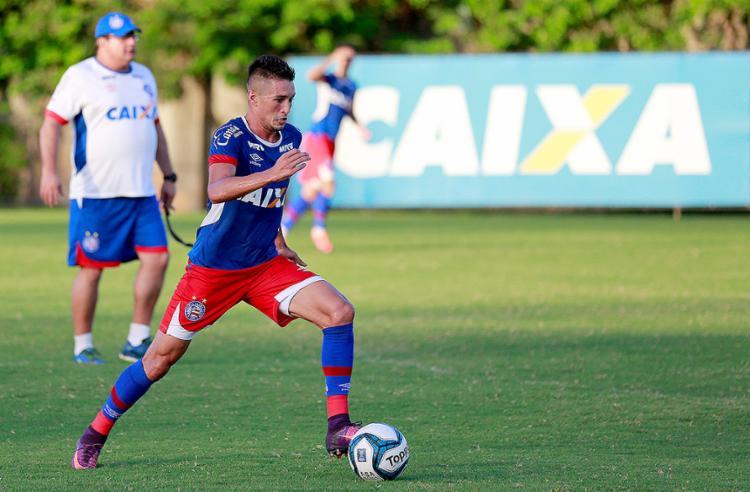 Juninho está confirmado entre os titulares do Bahia para esta quarta-feira, 29 - Foto: Felipe Oliveira l EC Bahia