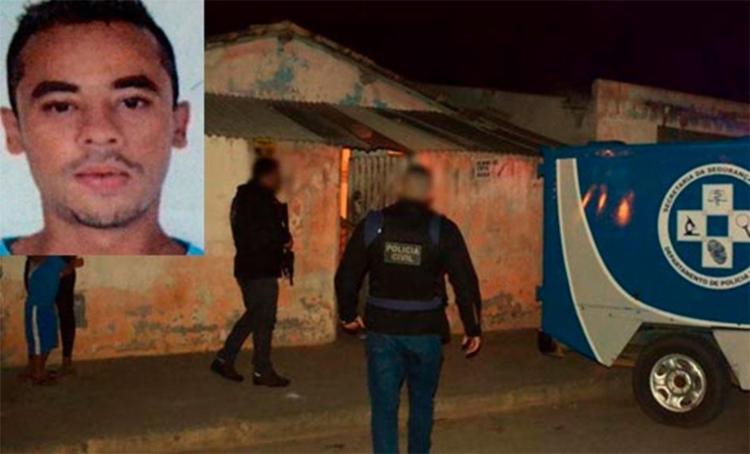 Ualas Dias Santos tentou fugir, mas foi alcançado por bandidos - Foto: Reprodução | Blog do Marcelo