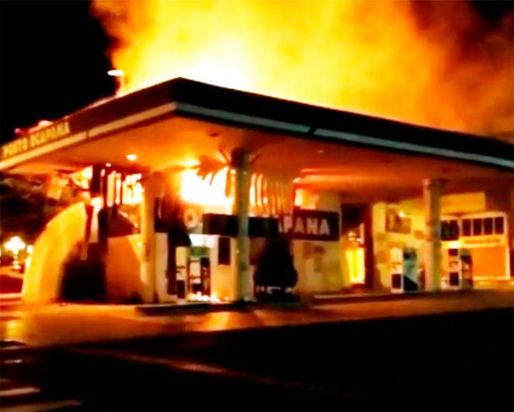 As causas do incêndio ainda são desconhecidas - Foto: Reprodução | Instagram
