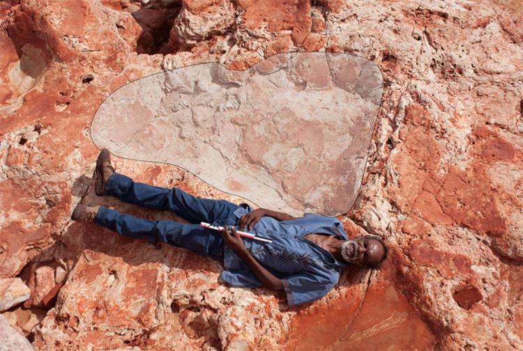Descoberta foi feita em rochas de 127 milhões a 140 milhões de anos de idade - Foto: Reprodução   Twitter
