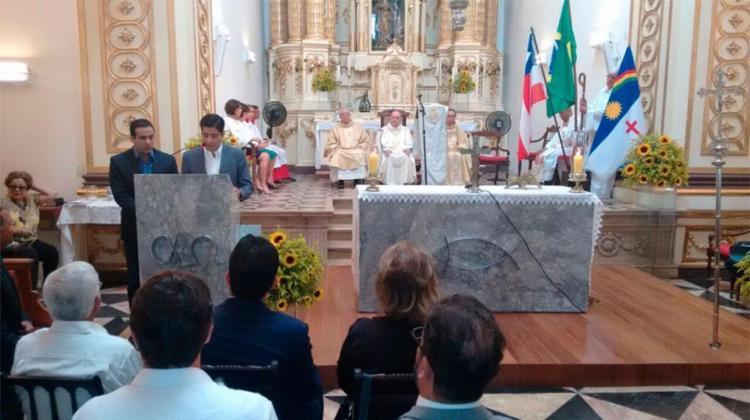 Prefeito ACM Neto participou de celebração - Foto: Luciano da Matta | Ag. A TARDE