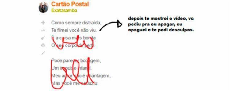 Música do Exaltasamba passou por sugestão de alteração na letra - Foto: Reprodução | Facebook