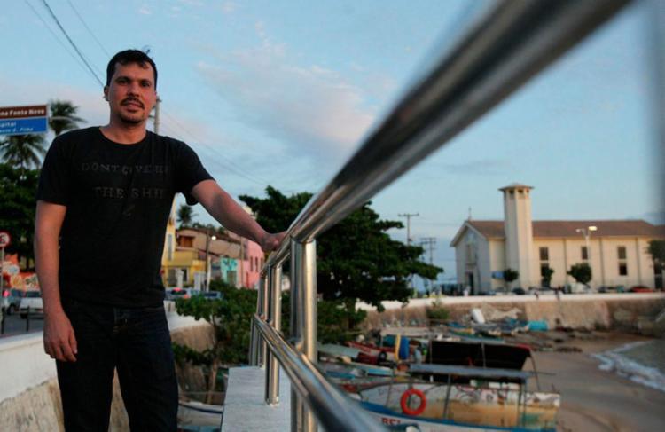 Leonardo não nasceu em Salvador, mas elegeu a cidade como seu 'lar' - Foto: Joá Souza | Ag. A TARDE
