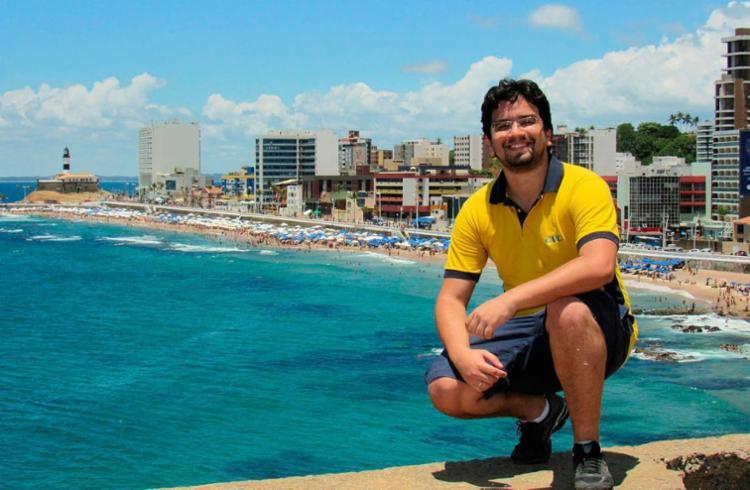 Advogado Iuri Barreto criou guia com dicas para aproveitar a capital - Foto: Arquivo Pessoal