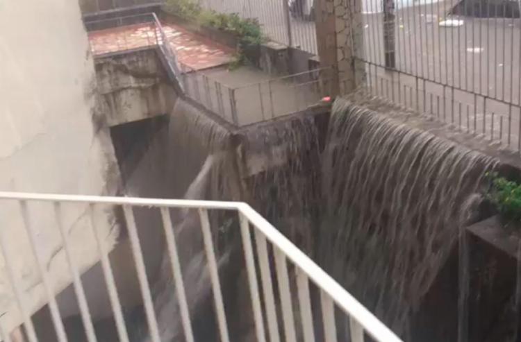 Locais do abrigo a água atingiu cerca de 1 metro de altura - Foto: Divulgação | Suely Pereira | Abrigo Mariana Magalhães