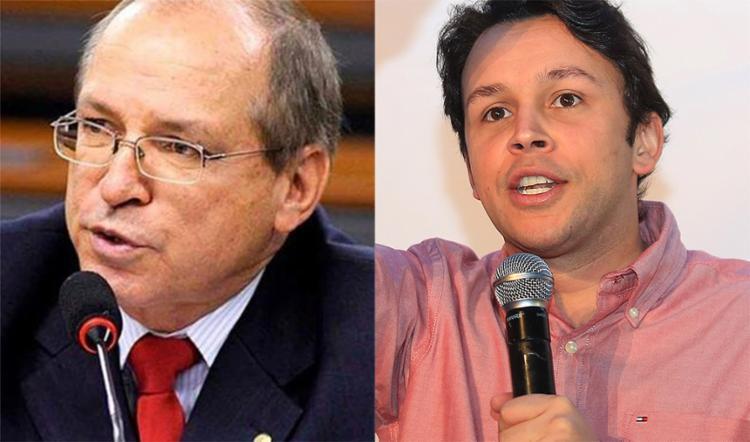 O ministro Edson Fachin, do STF, informou que faltaram provas contra Roberto Britto (E) e Mário Negromonte Jr - Foto: Reprodução | Facebook e Joá Souza l Ag. A TARDE