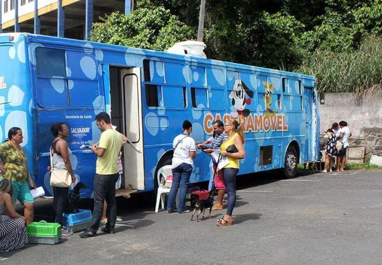 A unidade ficará na rua Carioca até o dia 28 de abril - Foto: Divulgação | Secom