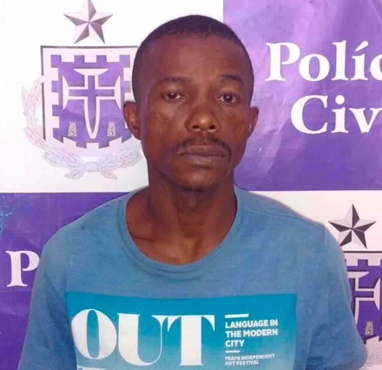 Valmir é suspeito de roubar coletivos na Boca do Rio - Foto: Divulgação | Polícia Civil