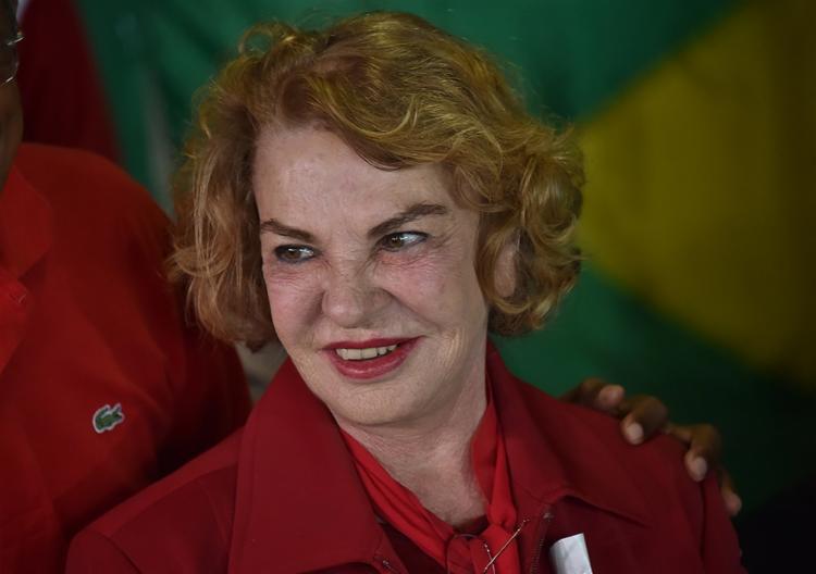 A ex-primeira-dama Marisa Letícia respondia com o marido a dois processos no âmbito da Operação Lava Jato - Foto: Nelson Almeida l AFP