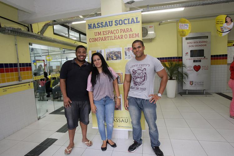 Luís Eduardo, Diana Báfica e Raimundo Veloso coordenam o evento no Centro - Foto: Margarida Neide l Ag. A TARDE