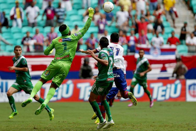 O Bode não encara o Tricolor desde 2015, quando foi goleado e viu escapar maior chance de título - Foto: Felipe Oliveira l EC Bahia