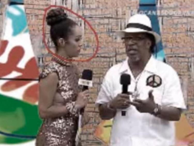 Imagens da apresentadora Vânia Dias aparece em destaque durante o vídeo - Foto: Reprodução | YouTube