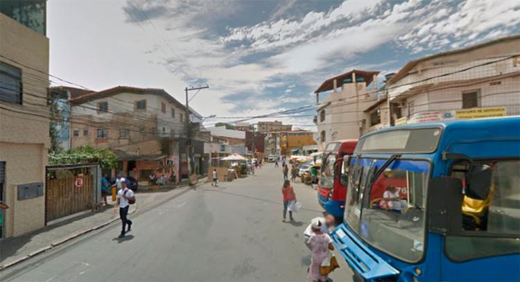 Idoso foi baleado durante tiroteio entre PMs e bandidos - Foto: Reprodução | Google Maps
