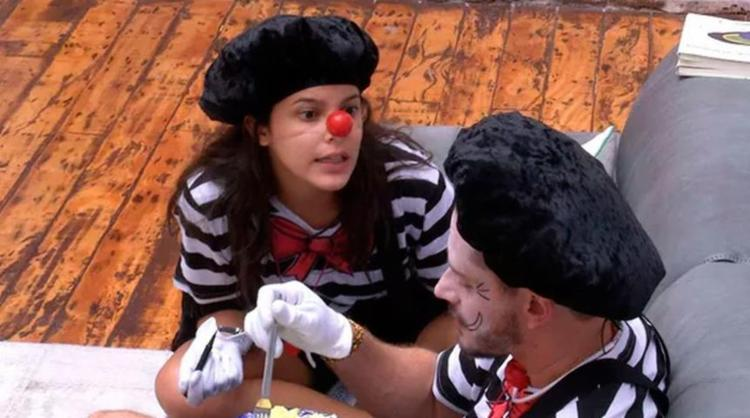 Casal brigou por conta de Vivian - Foto: Reprodução   TV Globo