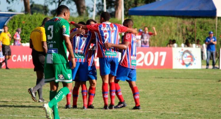 Diego Rosa marcou o único gol do jogo - Foto: Vitor Tamar | Divulgação | ECBahia