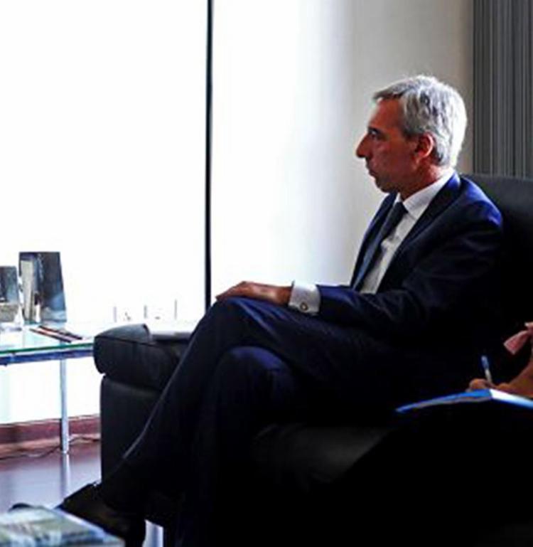 Português João Cravinho esteve na Governadoria - Foto: Amanda Oliveira l Gov-BA