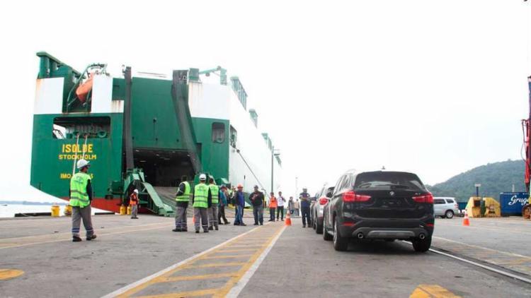 Terminal para veículos em Paranaguá, no Paraná, está na lista de concessões do governo - Foto: Divulgação   Appa