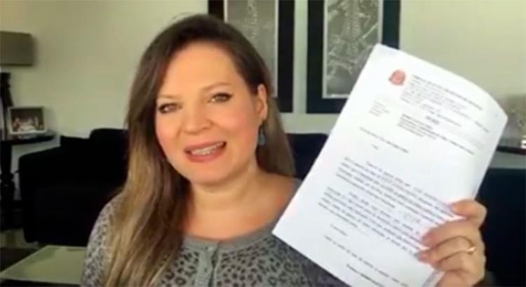 Joice apresenta os detalhes da sentença e explica o que de fato aconteceu - Foto: Reprodução   Facebook