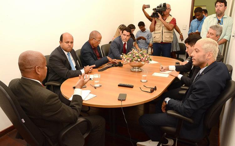 Na sessão desta terça-feira, 7, Igor Kannário evitou falar com jornalistas. - Foto: Antonio Queirós l Câmara Municipal de Salvador