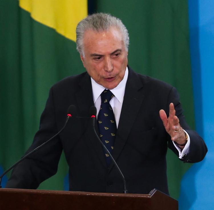 Temer destinou R$ 5,8 bilhões em verbas para deputados e senadores - Foto: Valter Campanato l Ag. Brasil