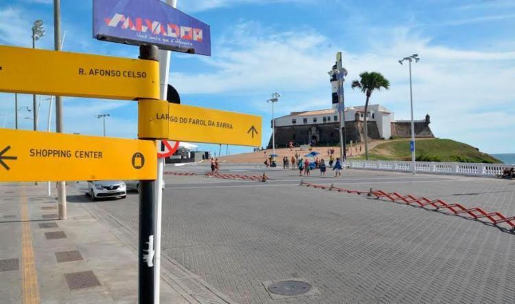 Ônibus continuam proibidos de circular neste trecho - Foto: Divulgação | Prefeitura de Salvador