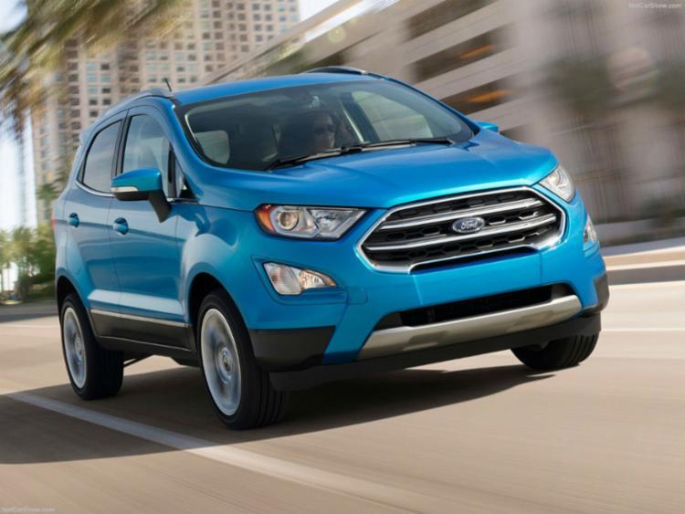 Ford EcoSport ganha remodelação este ano - Foto: Divulgação Ford