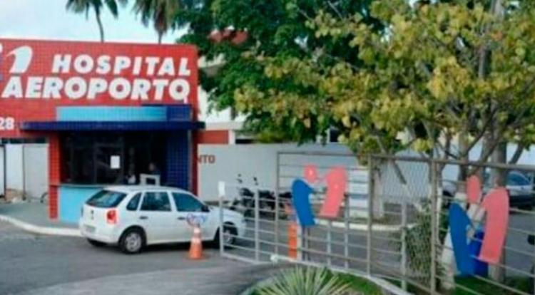 Policial está internado no Hospital do Aeroporto - Foto: Reprodução | Google Maps