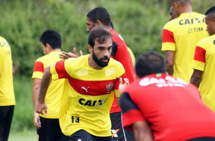 Elenco rubro-negro realizou seu último treino em Salvador antes de embarcar para o Rio - Foto: Maurícia da Matta | Divulgação | EC Vitória