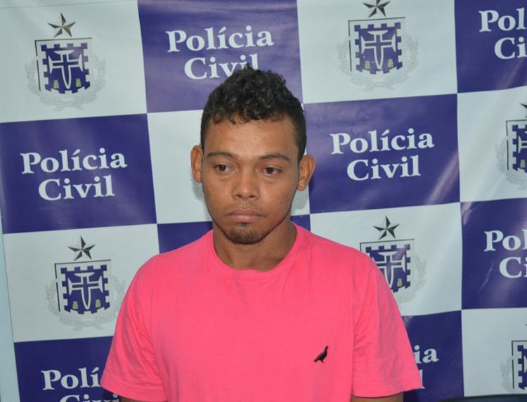 Rodrigo foi em cana e confessou ter violentado a própria filha, dentro de casa - Foto: Reprodução l Portal Jaguarari