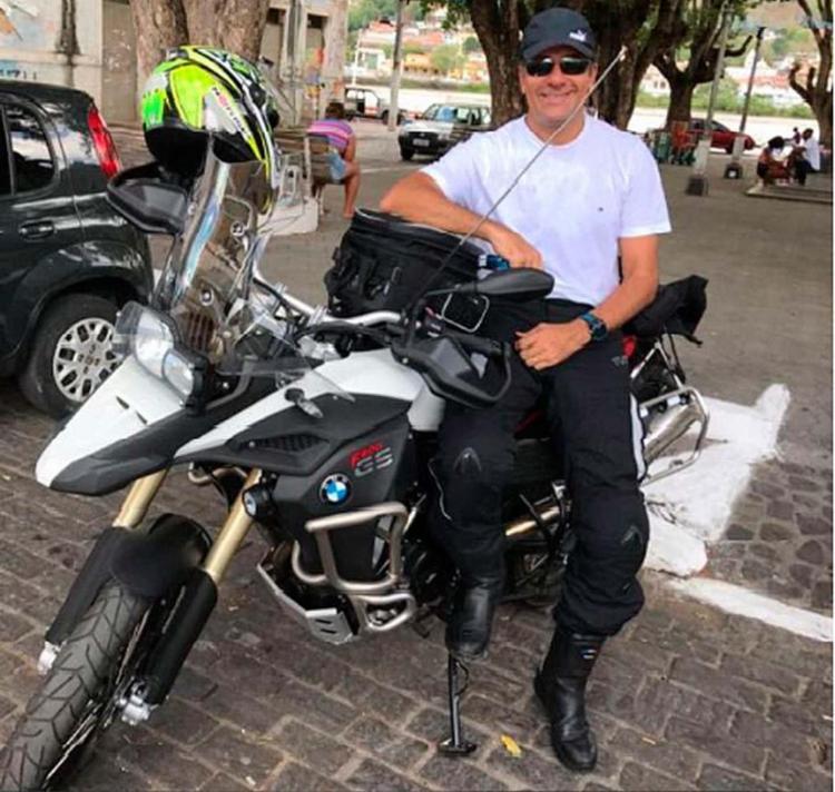 José Eduardo seguia para um encontro de motos - Foto: Reprodução | Ipiau On Line