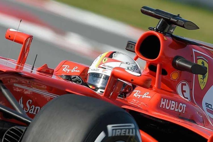 Vettel marcou a volta mais rápida do dia - Foto: Reprodução | AFP