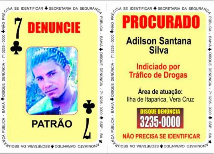 Adilson foi indiciado por tráfico de drogas - Foto: Divulgação | SSP
