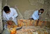 Seis múmias são encontradas em túmulo faraônico perto de Luxor | Foto: