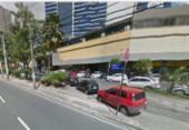 Idosa é atropelada por ônibus na avenida Tancredo Neves | Foto: