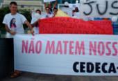 Familiares protestam e pedem prisão de suspeito de morte de adolescente | Foto: