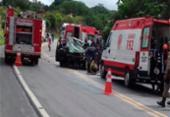 Três pessoas morrem em acidente com quatro veículos na BR-101 | Foto: